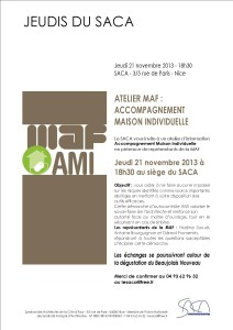Soirée MAF 21-11-2013