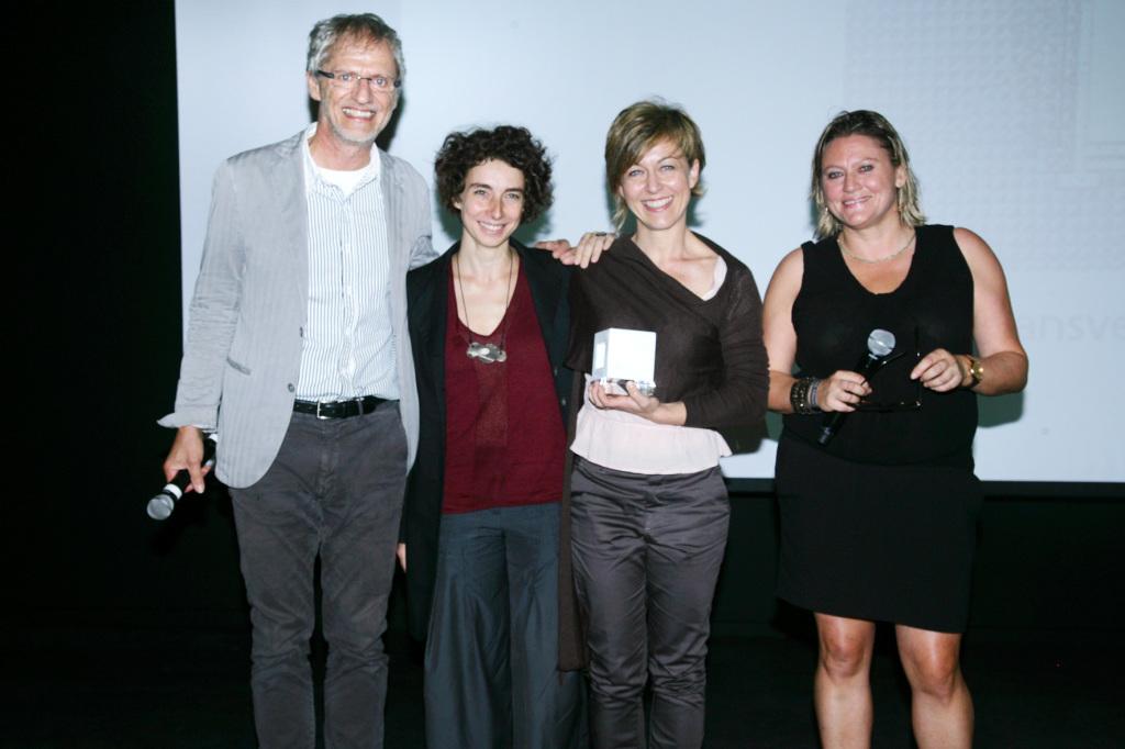 """Sara Alfieri & Leslie Drouet, lauréates """"Extension de Villa"""""""