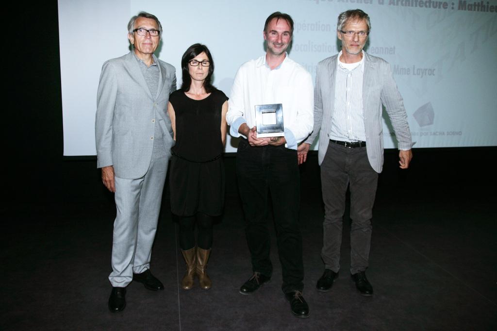 """Matthieu & Sophie Marin, lauréats """"Prix spécial ArchiCOTE"""""""