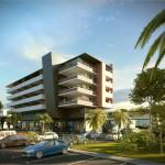 batiment à usage commercial, bureaux et d'habitation Eoz /// Nice