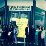 Conférence de presse ce vendredi 5 juin au Forum de l'Architecture et de l'Urbanisme, les architectes ont répondu présent afin d'évoquer l'évenement