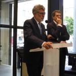 Michel Benaïm et Alain Philip, adjoint au maire de Nice