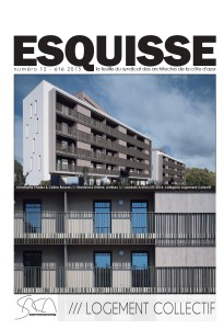 "ESQUISSE n°12 - ""logement collectif"