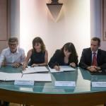 Signature en mairie de Cagnes sur Mer le 21 juillet 2016