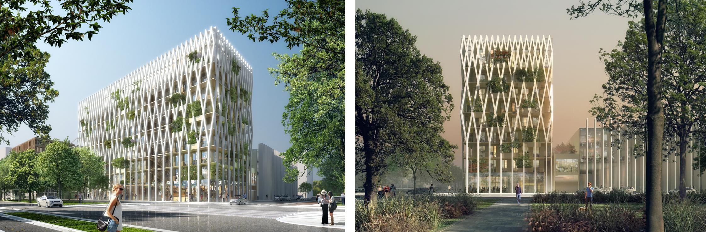 Architecte : Architecture-Studio / Maître d'ouvrage : Nexity Ywood / Aménageur : EPA / Paysagiste : Tangram