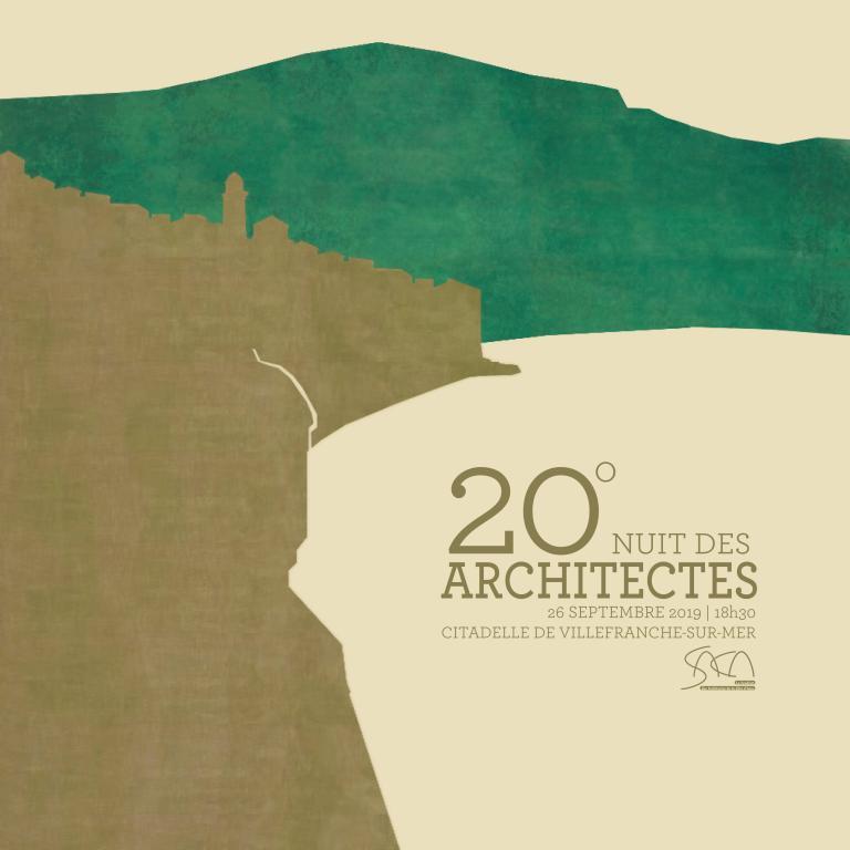 20° NUIT DES ARCHITECTES /// JEUDI 26 SEPTEMBRE /// CITADELLE DE VILLEFRANCHE SUR MER @ Citadelle de Villefranche sur Mer